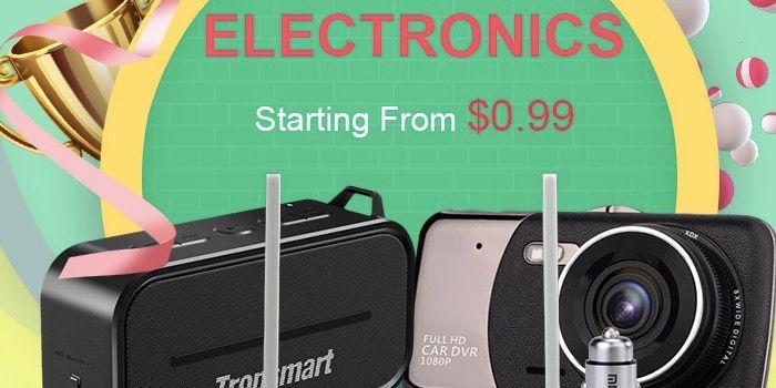 ofertas en ofertas electronica y domotica en GeekBuying