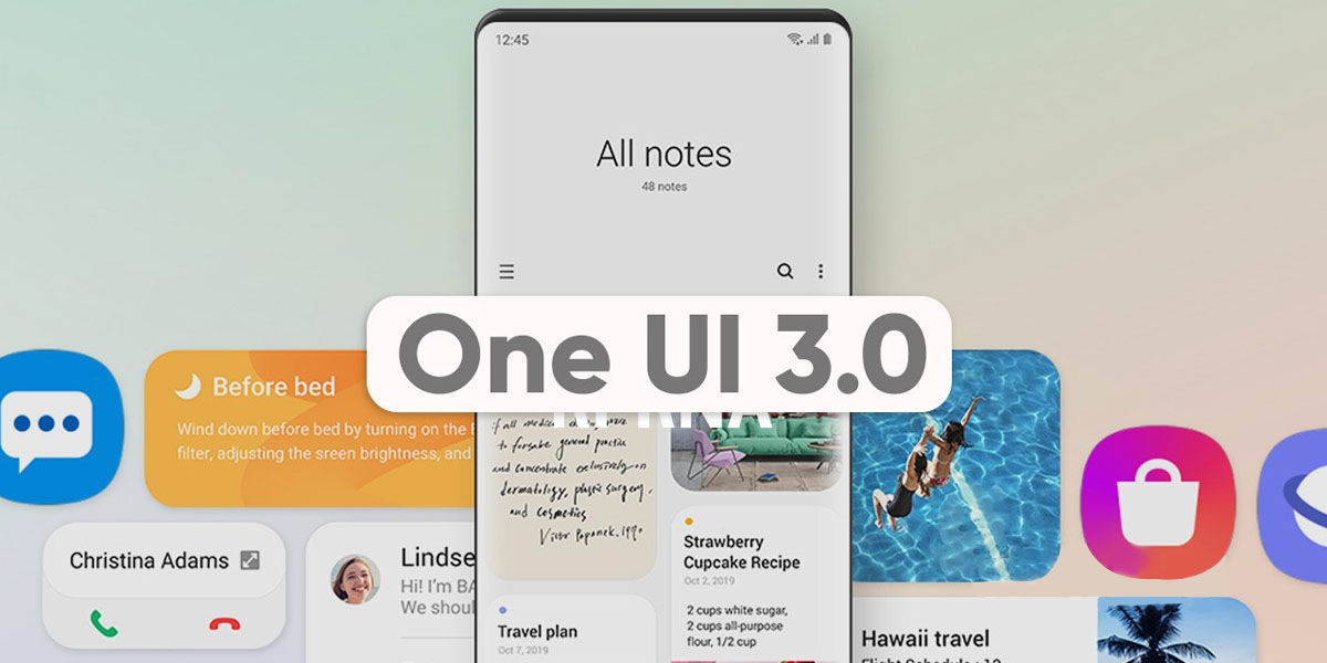 one ui 3 apps samsung