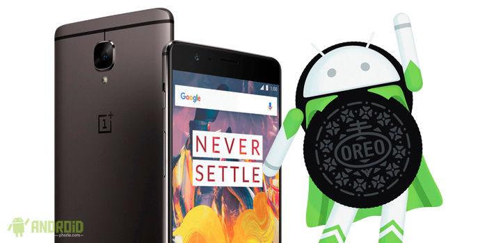 OnePlus 3T Android Oreo