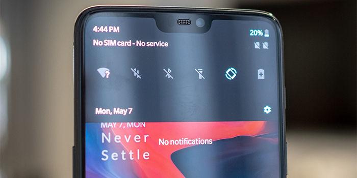 oneplus 6 arregla parpadeo pantalla actualizacion