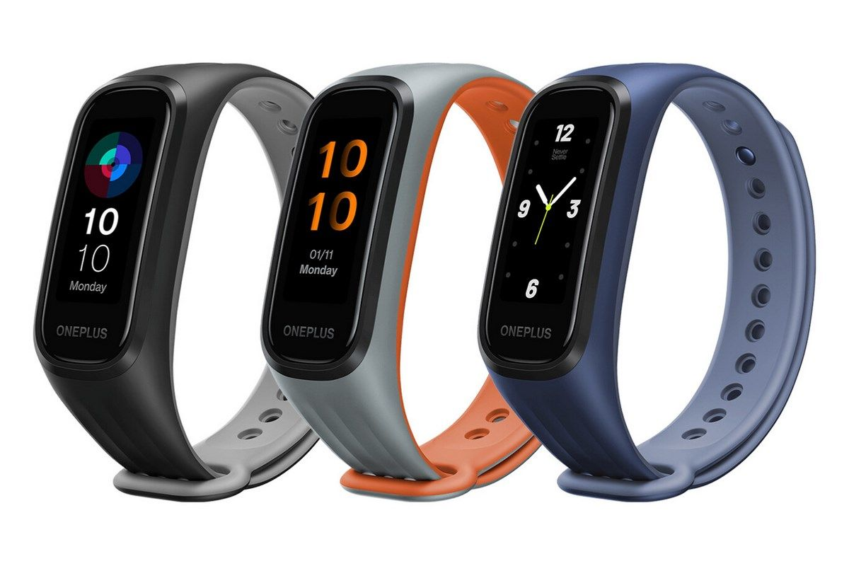 oneplus band colores