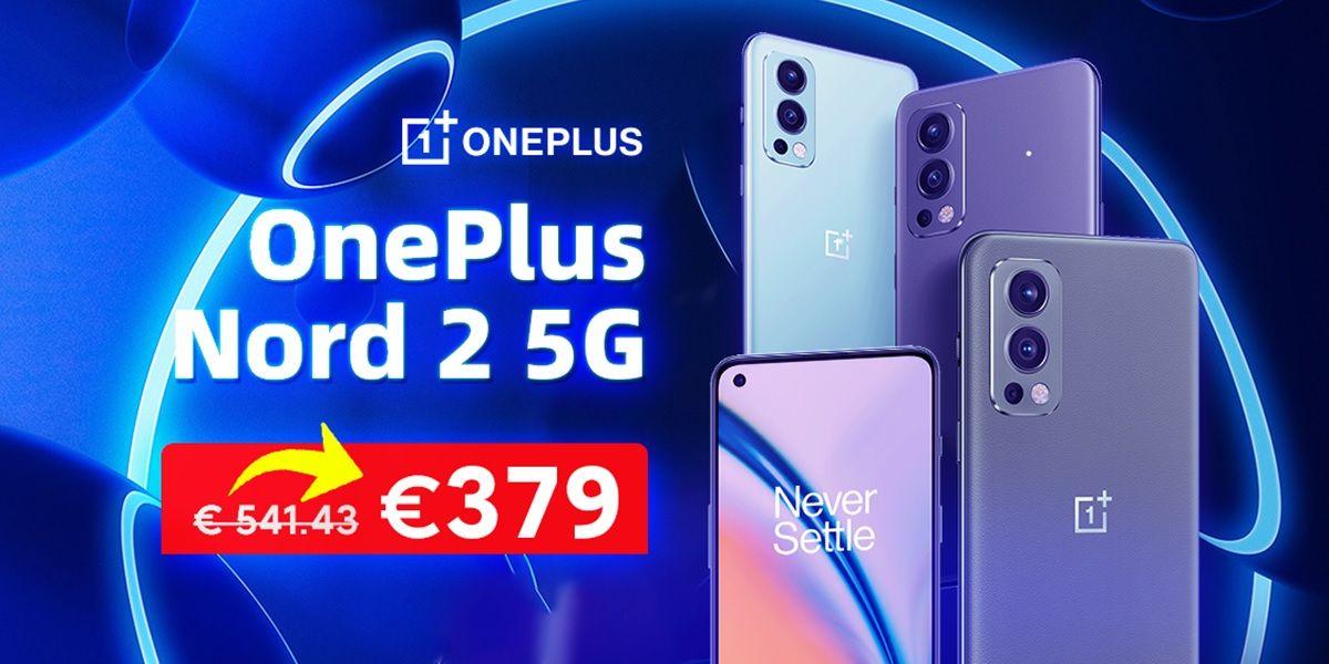 oneplus nord 2 5g oferta de lanzamiento