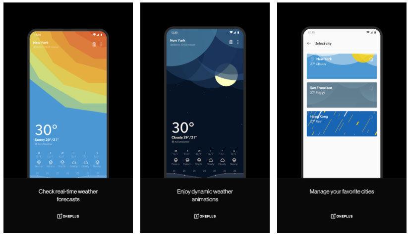 OnePlus Weather