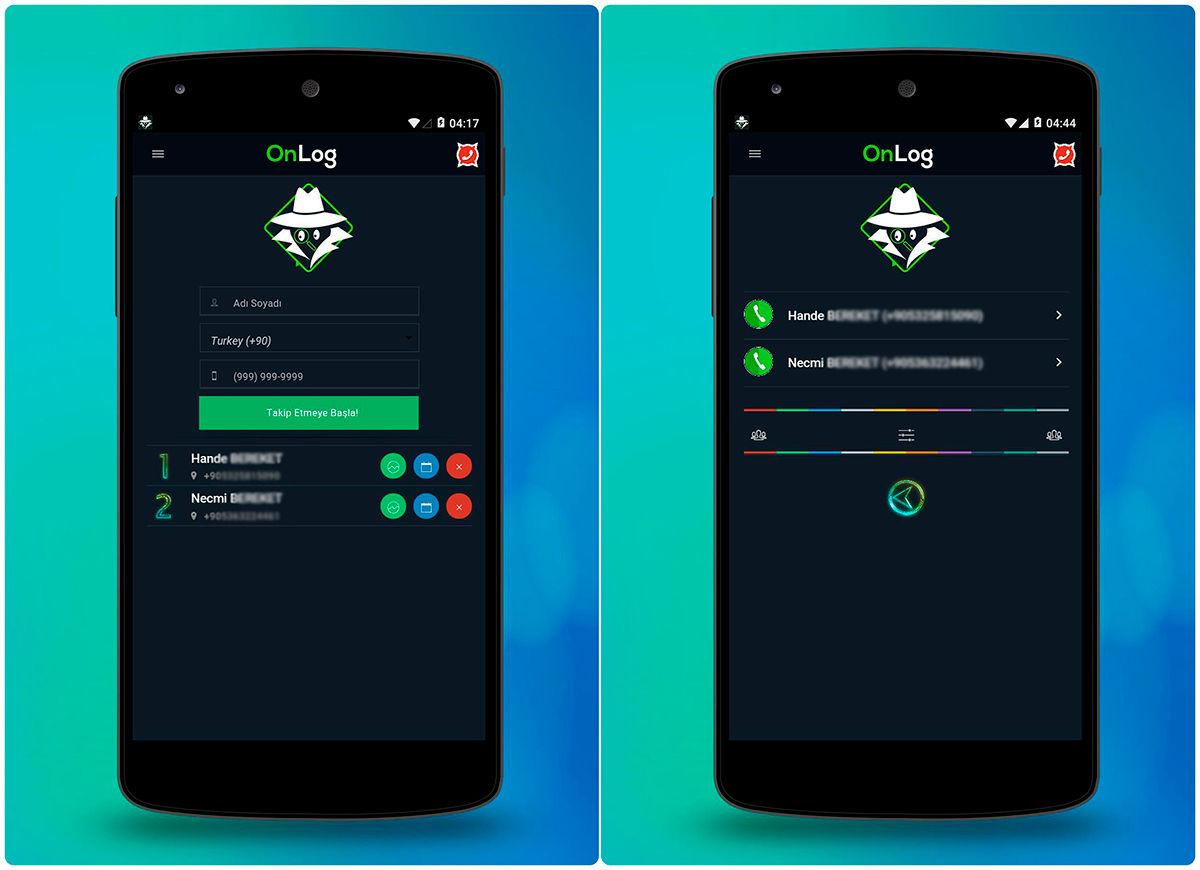 onlog app para android