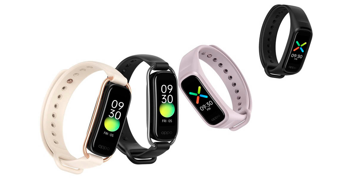 oppo band smartband con NFC