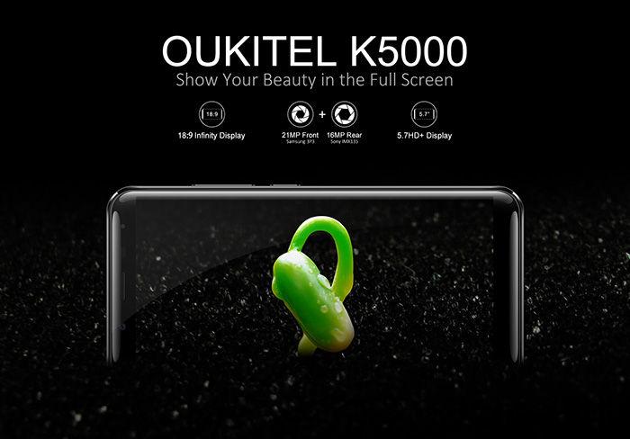OUKITEL K5000 especificaciones