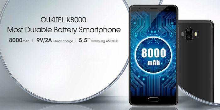 OUKITEL K8000 especificaciones