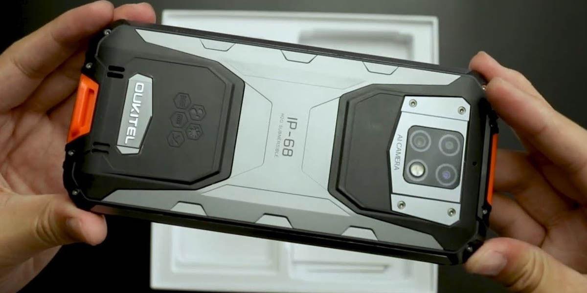 oukitel wp6 smartphone rugerizado android mucha batería