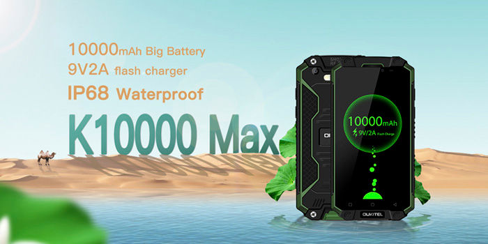 OUKITELL K10000 Max características