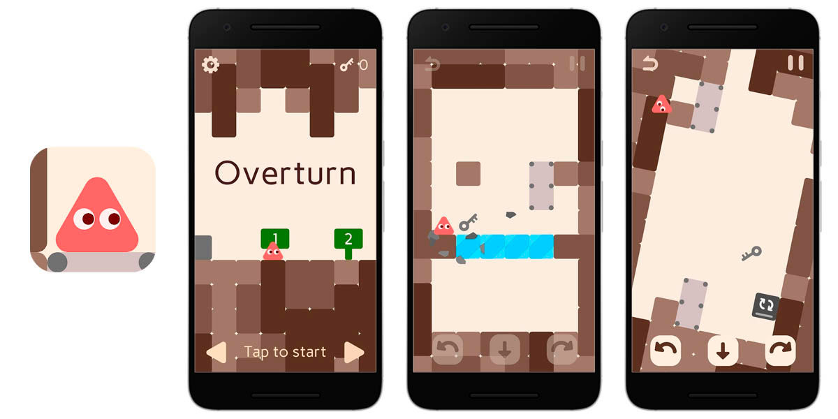 overturn android juego indie