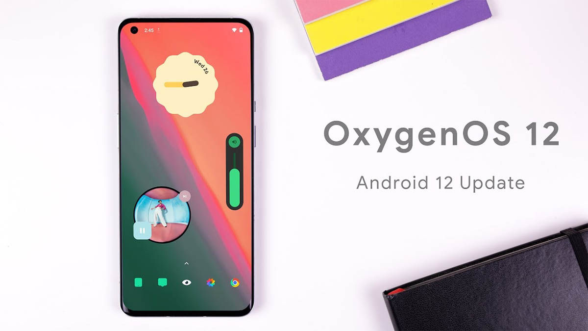 oxygenos 12 actualización android oneplus