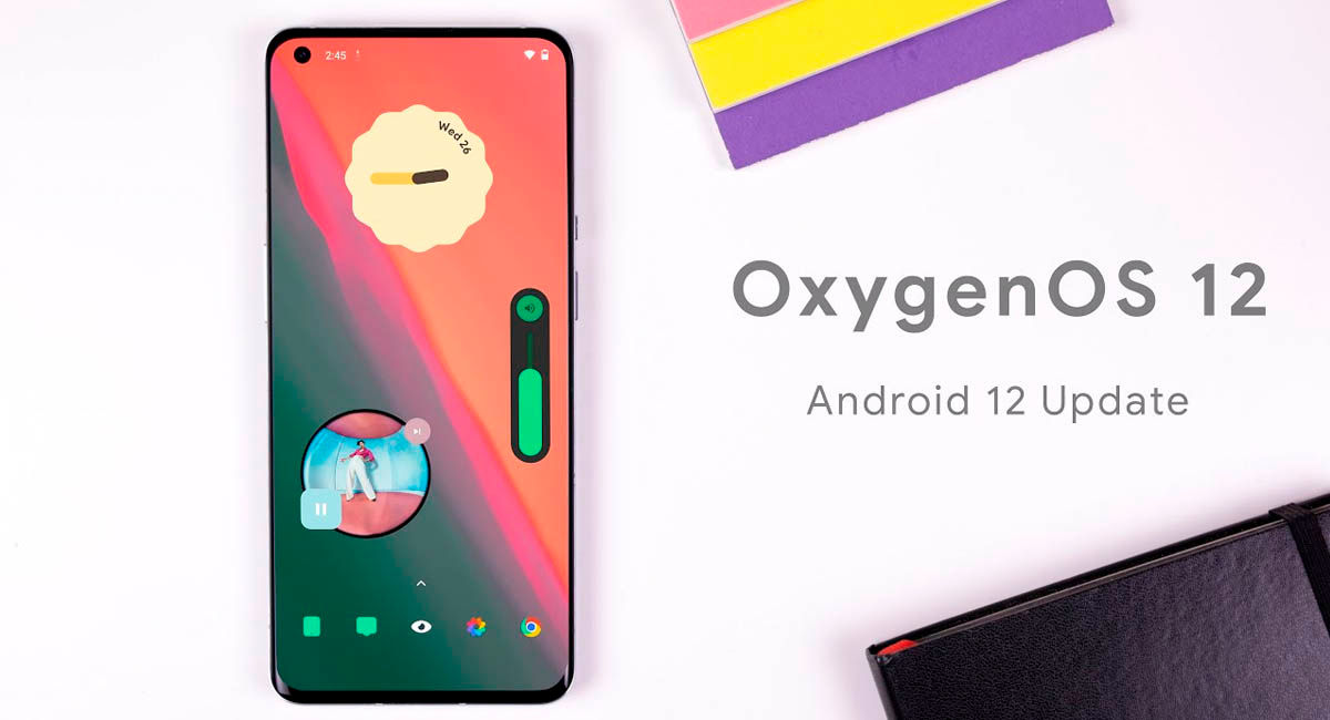 oxygenos 12 beta novedades