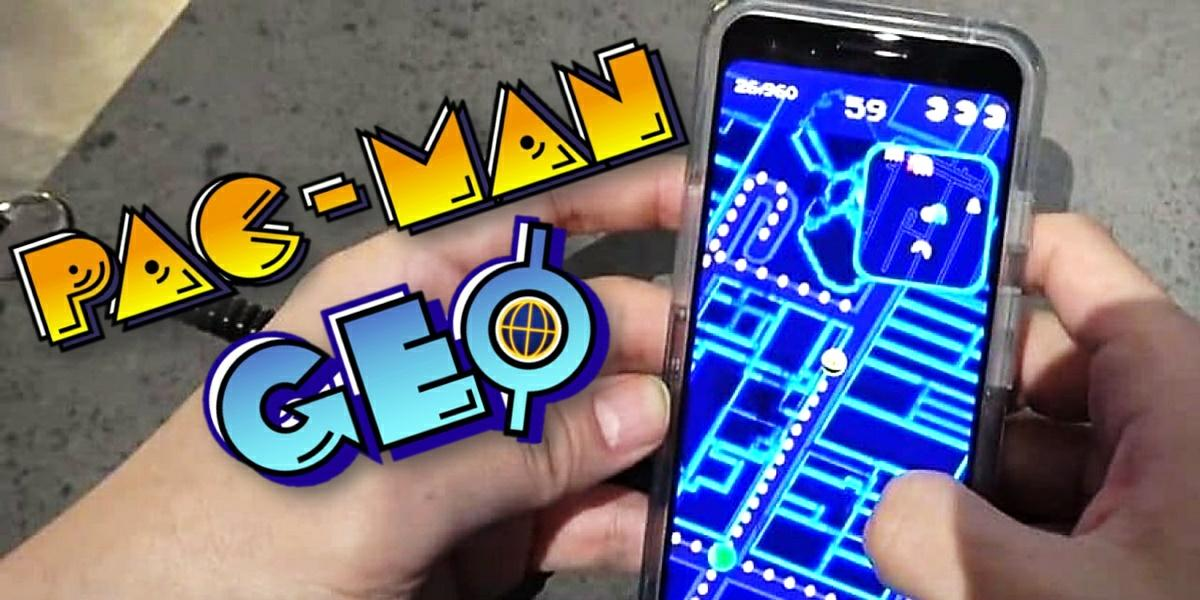 pac man geo juego android ios