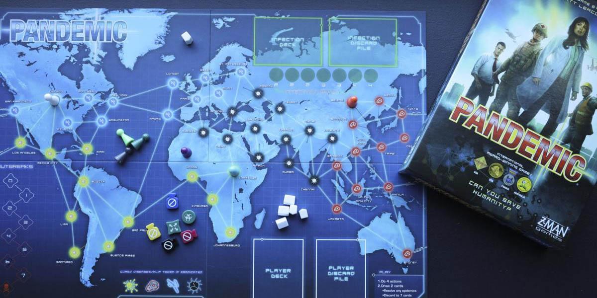 pandemic juego de mesa coronavirus en casa