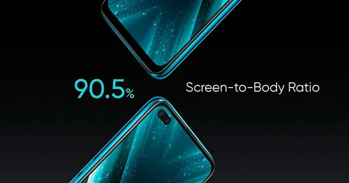 pantalla del realme x3