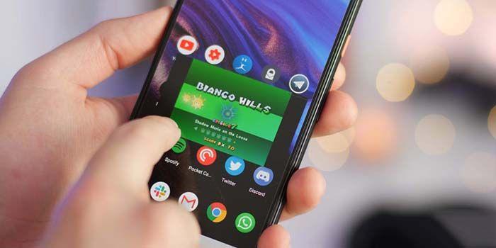 pantalla flotante android 11