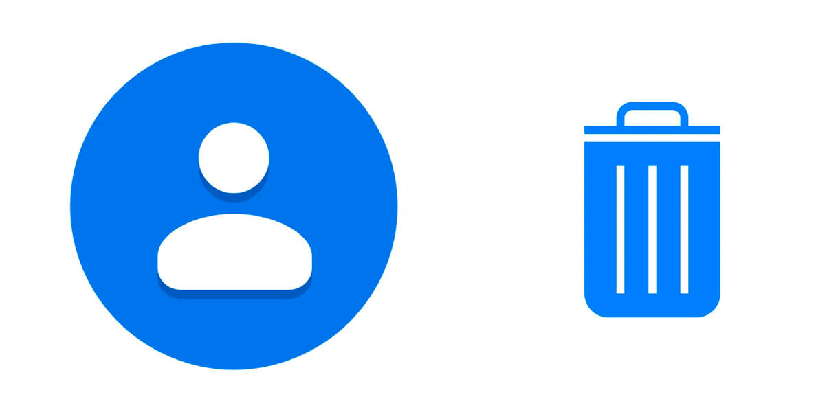 papelera contactos google