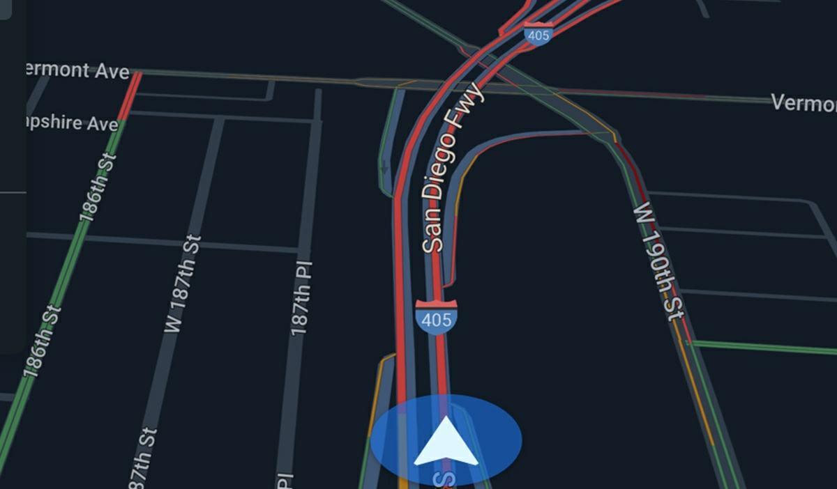 para que sirve modo conduccion google maps