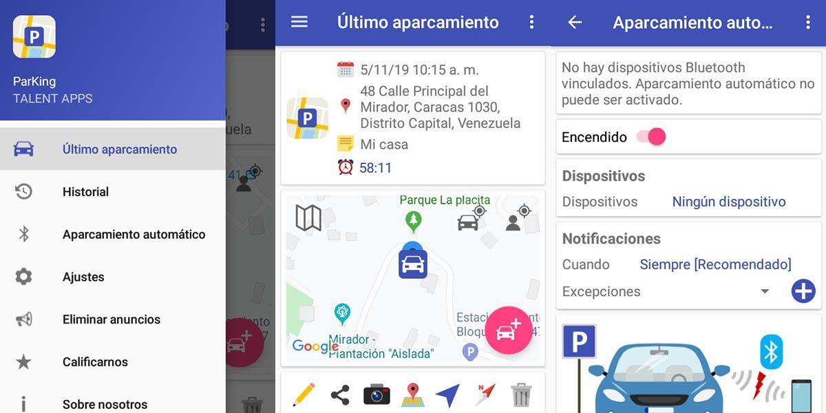 parking la app para localizar tu coche