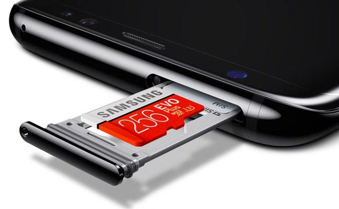 pasar aplicaciones a la tarjeta de memoria Galaxy S8