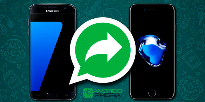Pasar conversaciones WhatsApp de Android a iPhone