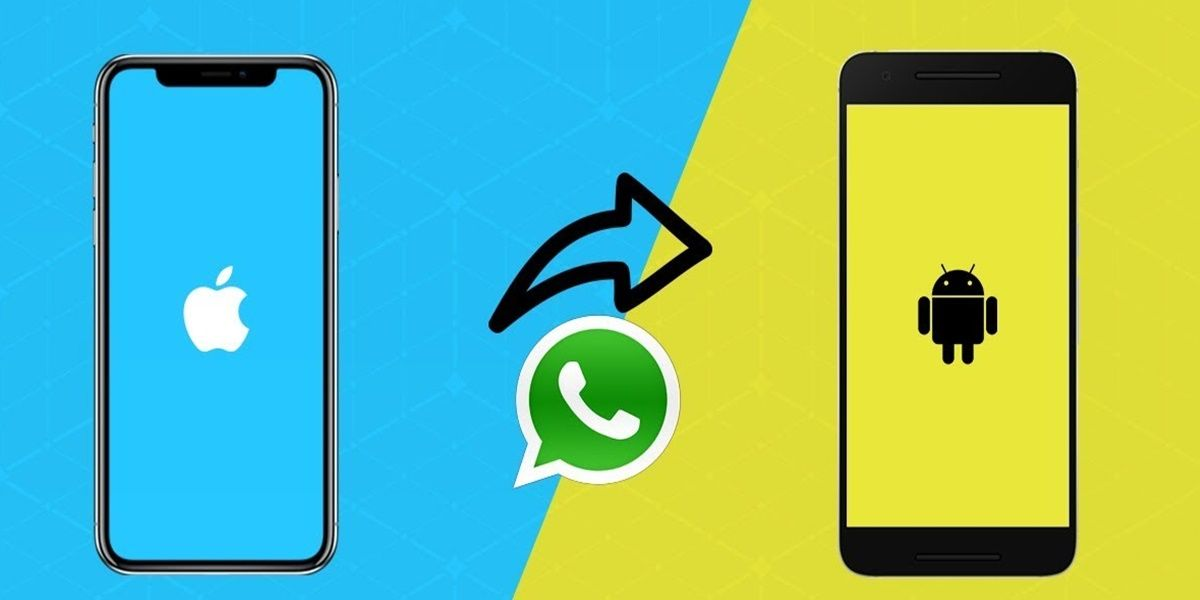 pasar whatsapp de iphone android