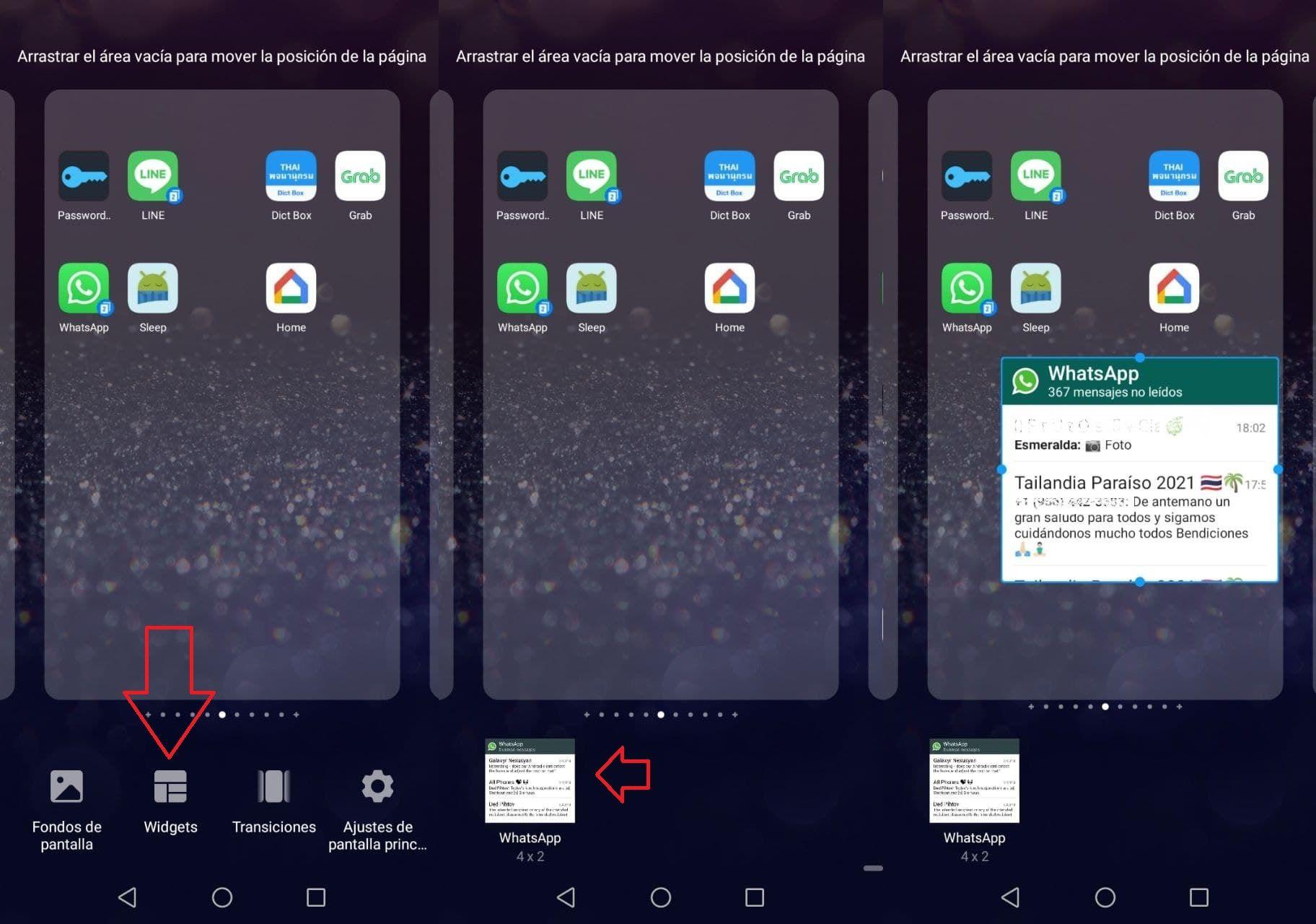 pasos crear widget whatsapp