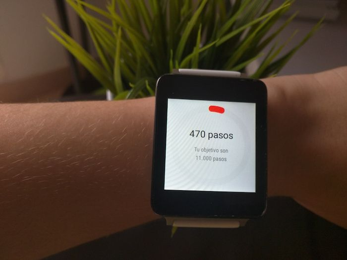 pasos diarios android wear