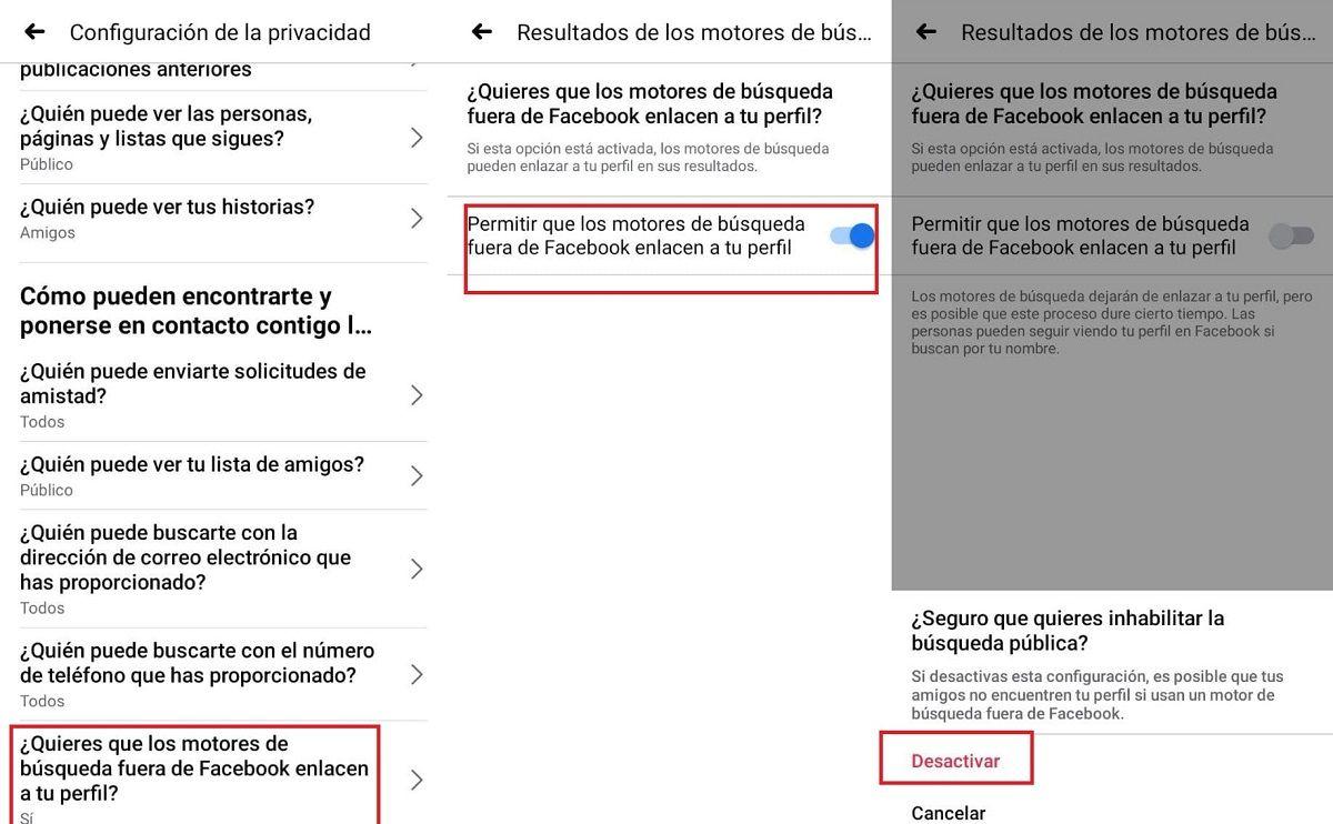 pasos eliminar facebook de google (1)