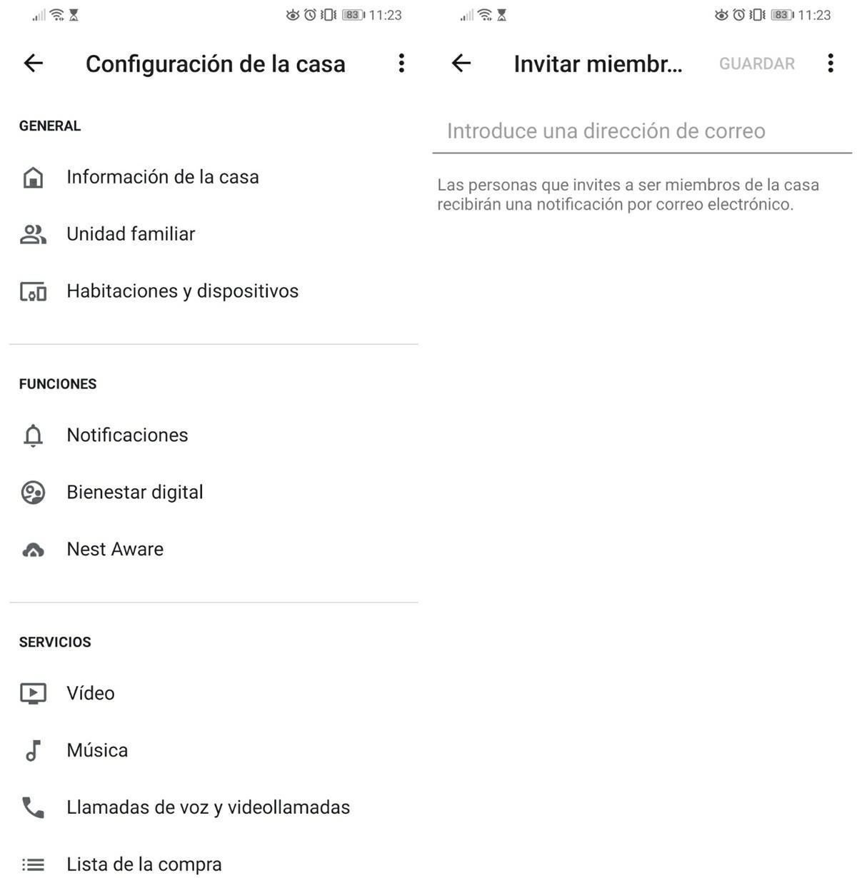 pasos para anadir varios usuarios a los dispositivos de google home