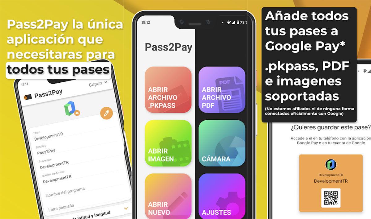 pass2pay para google pay