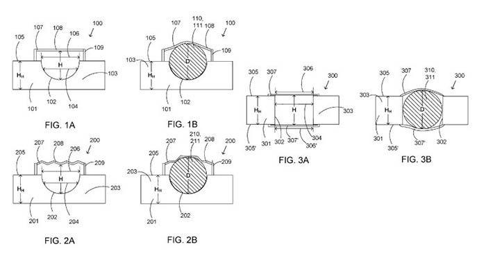 patente de microsoft para reducir el espacio del auricular