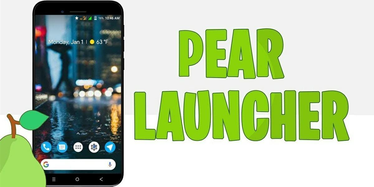 pear launcher rapido para moviles lentos
