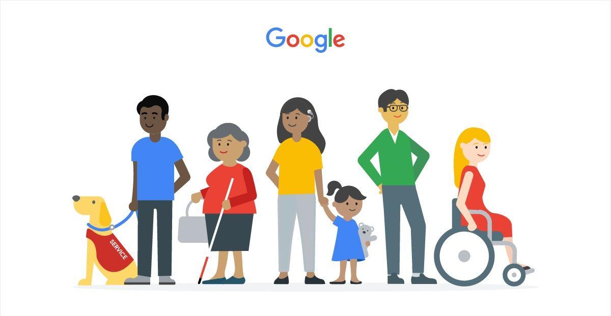 permiso de accesibilidad de google