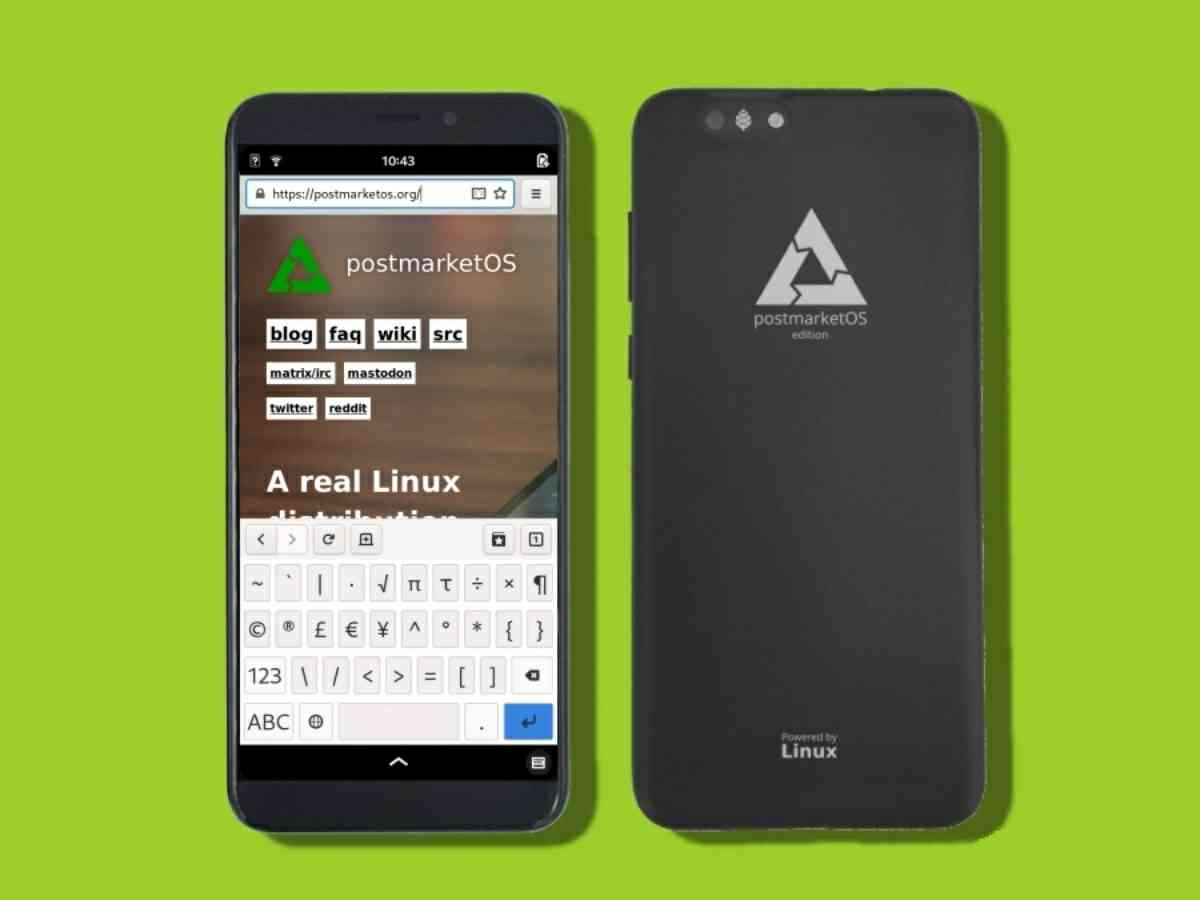 pinephone smartphone con linux