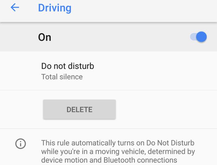 Pixel 2 No molestar automático