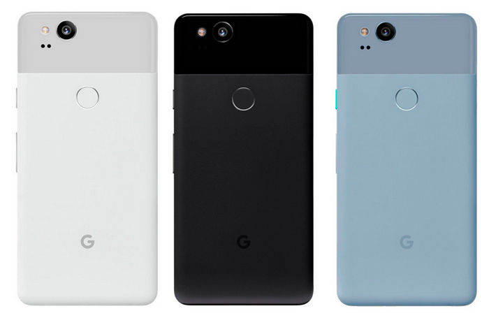 Pixel 2 XL colores