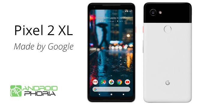 Pixel 2 XL especificaciones