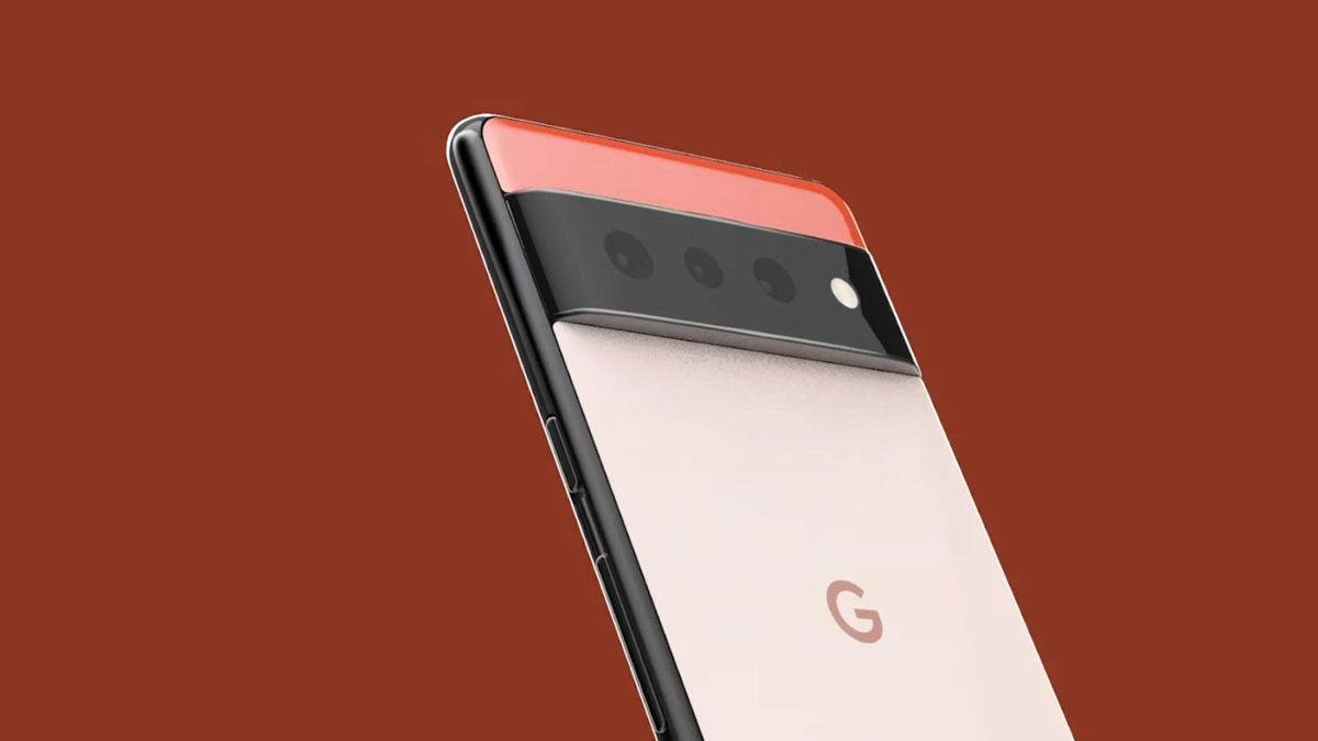 Google Pixel 6 parte trasera
