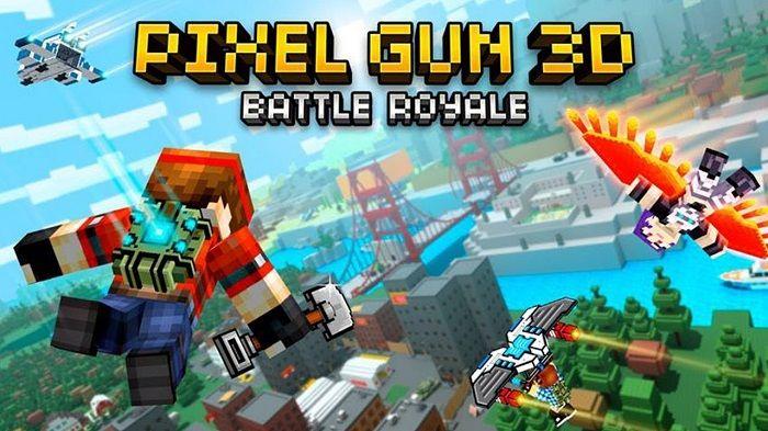pixel gun 3d battle royale