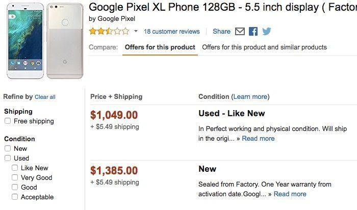 pixel precio amazon