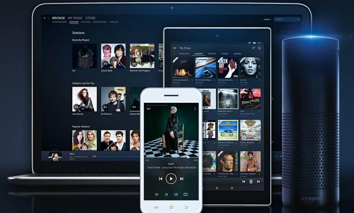 plataformas amazon music unlimited