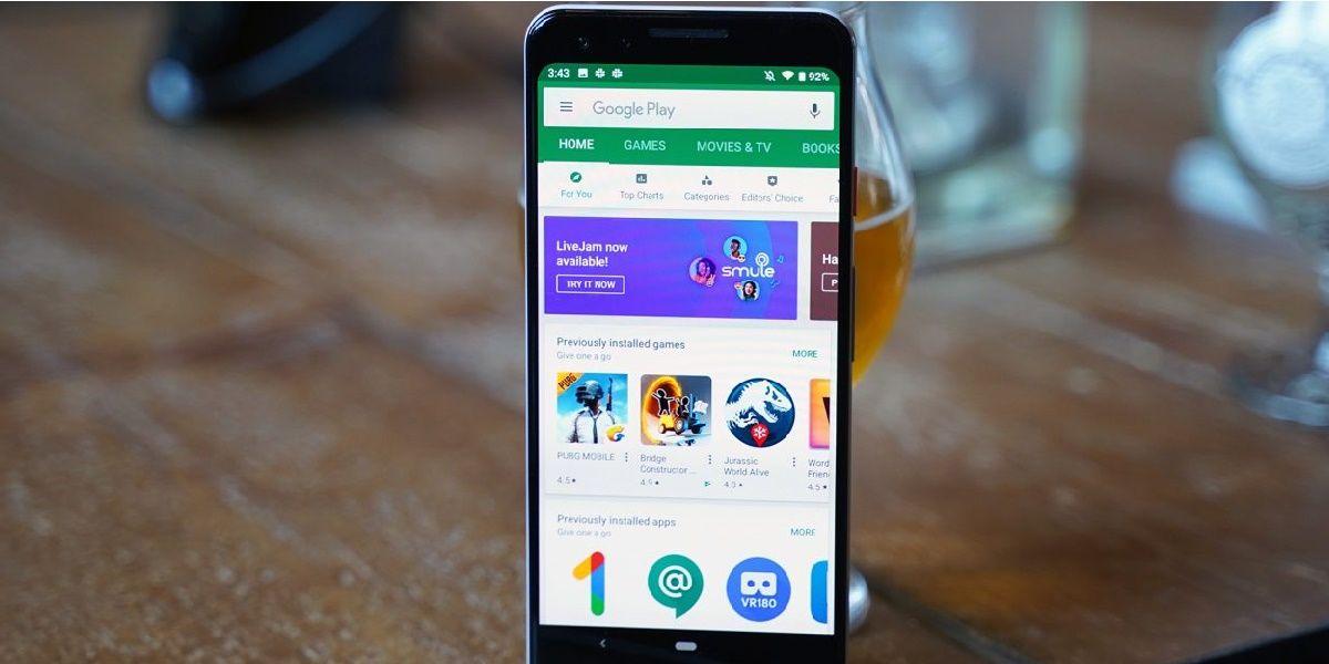 play store permite descargar varias aplicaciones a la vez