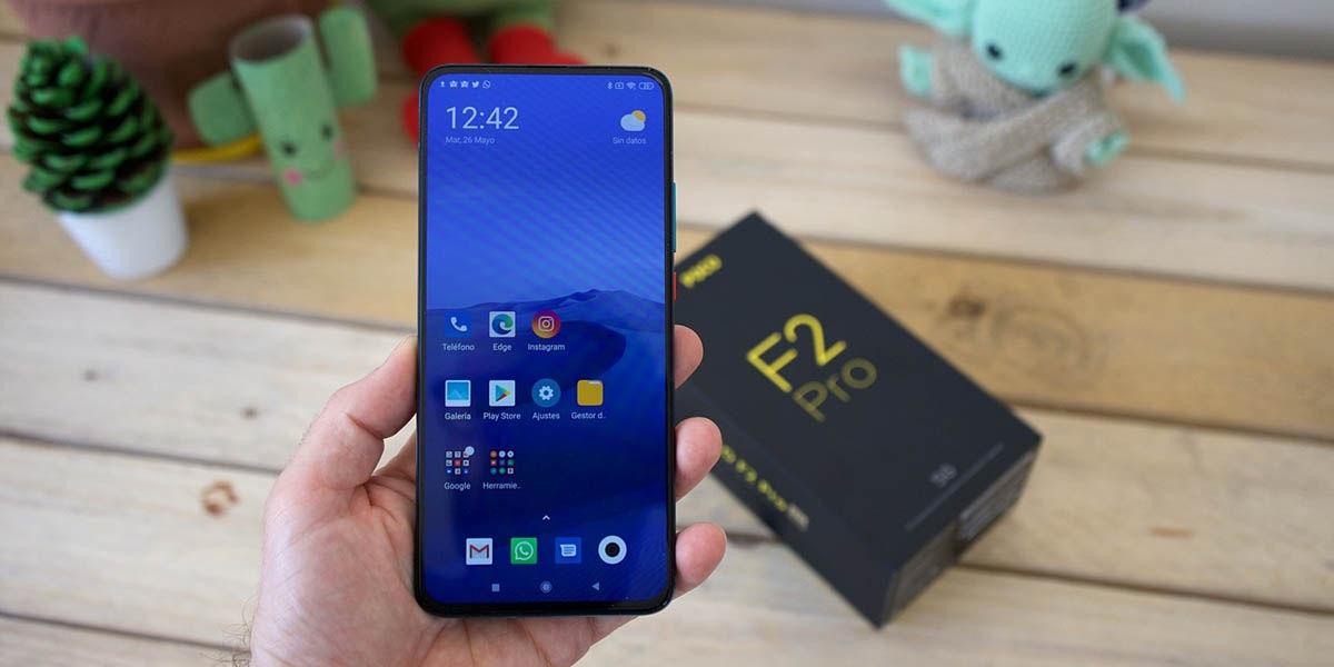 poco f2 pro móvil recomendado