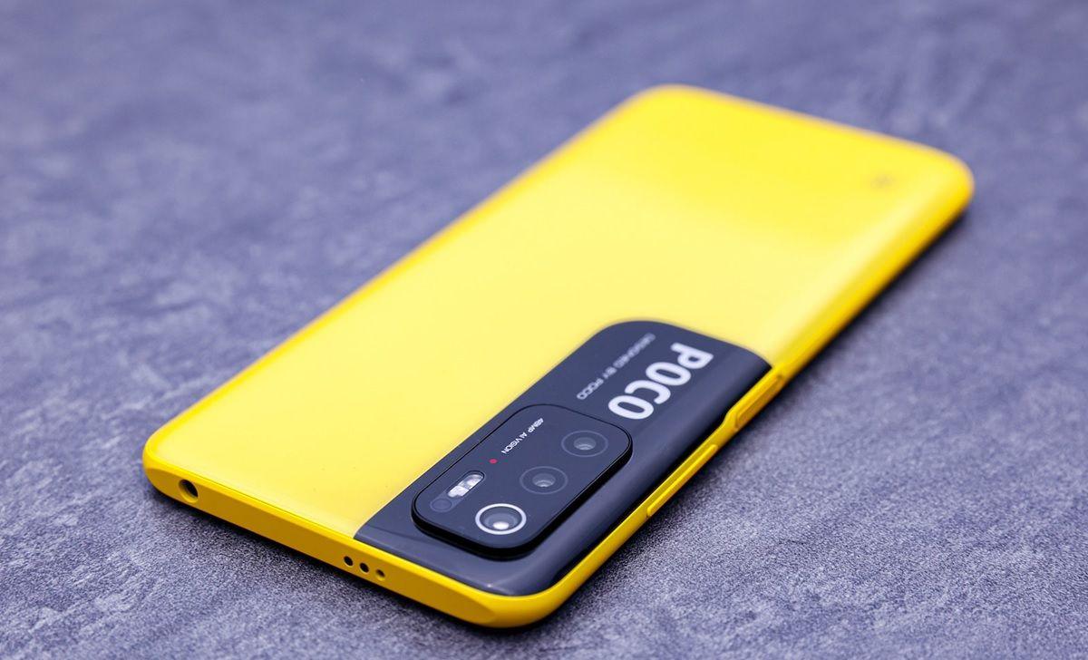 poco m3 pro 5g amarillo.