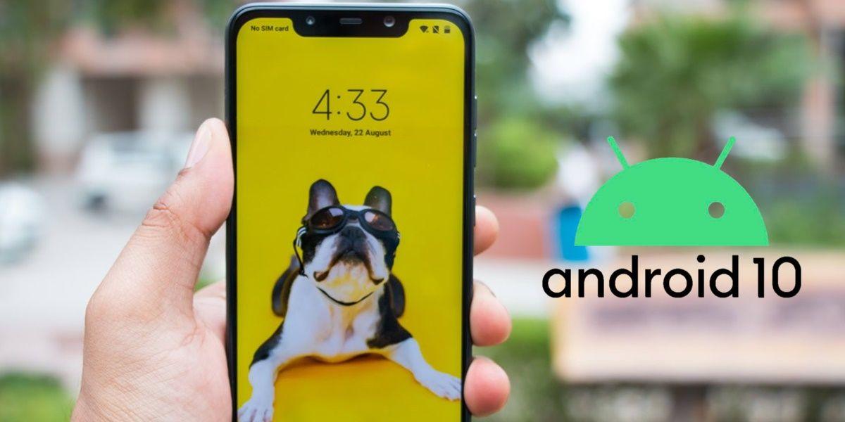 pocophone f1 instalar android 10
