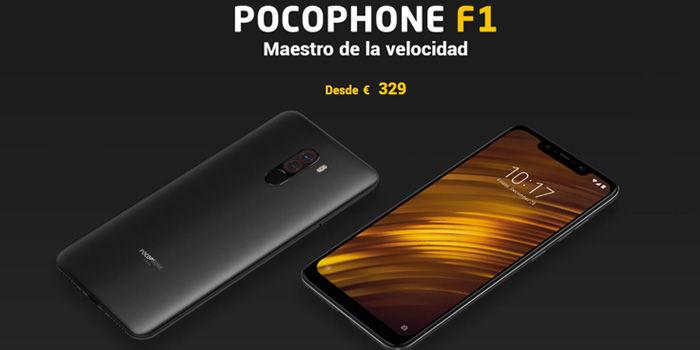pocophone f1 precio españa oficial