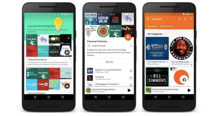 podcast google play music