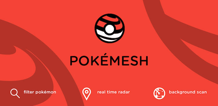 pokemesh encontrar pokemon