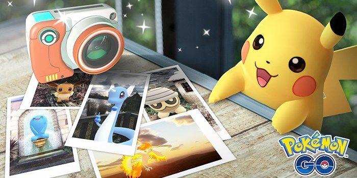 pokemon go fotografias a pokemon
